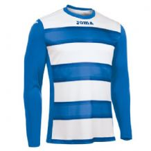 JOMA Europa III Jersey - Royal / White (Long Sleeve)